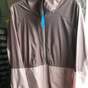 Women's Columbia Windbreaker Hi Lo Jacket